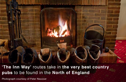 Great pubs on the Inn Way trail in England