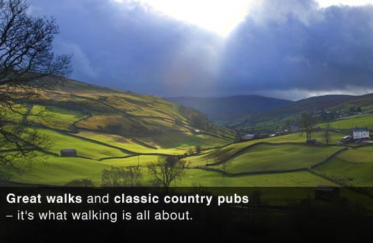 The Great outdoors, great walks with great pubs